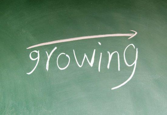 12953632 - growing symbol